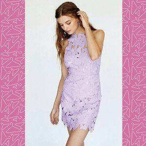 Free People ~ Jessa Lace Mini Dress ~ Size L ~